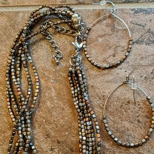 Premier Designs 'Sedona' necklace and earrings